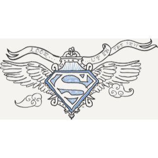 Superman Stylized Blue Outline Wings Logo Superman Coloring Pages Spiderman Art Wings Logo