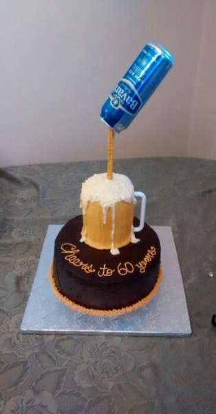 33+ trendy birthday cake for men dads beer mugs