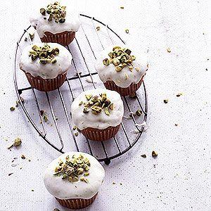 Zucchini Pistachio Cupcakes