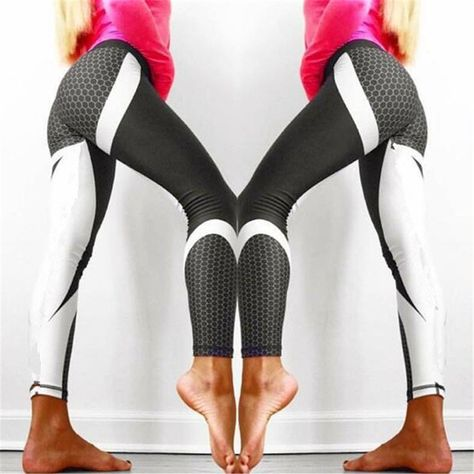 c5ec8578a5 (Promotion price $6.3) Sexy Shaping Hip Yoga Pants Women Fitness Tights  Workout Gym Running Bottom Slim Low Waist Sports Leggings Training Clothing