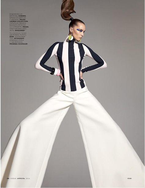 Your Perpetual Motion Machine (Vogue Russia)   Ishi - Photographer Katerina Zolototrubova - Fashion Editor/Stylist Jean-Luc Amarin - Hair Stylist Eny Whitehead - Makeup Artist Irina Liss - Model