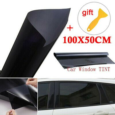 Ad Ebay Vlt 5 Uncut Roll 100x50cm Window Tint Film Charcoal
