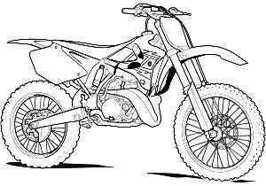 Coloriage Gratuit Moto Cross.Comment Dessiner Une Moto Cross Coloriage Moto Comment
