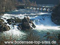 Wasserfall Rheinfall Schaffhausen (Bodensee), Alemania