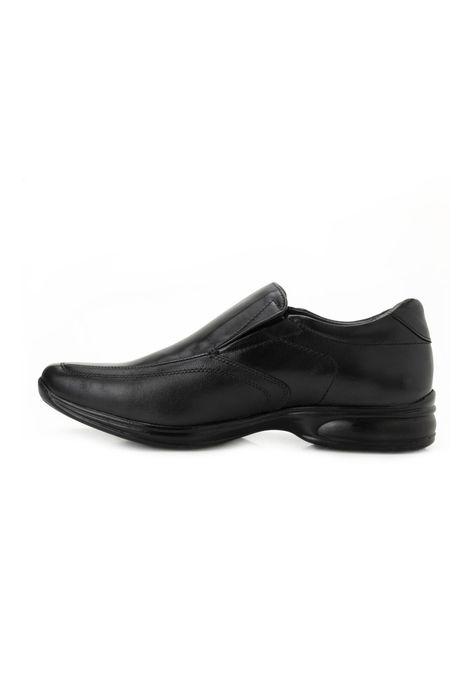 Sapato Couro 3D Jota Pe JP19 Preto