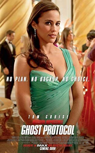 Paula Patton In Mission Impossible Ghost Protocol 2011 Ghost Protocol Paula Patton Tom Cruise