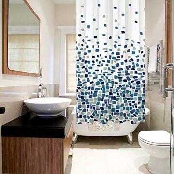 Duschvorhang Badezimmer Badewanne Umweltfreundlich Waschbarer