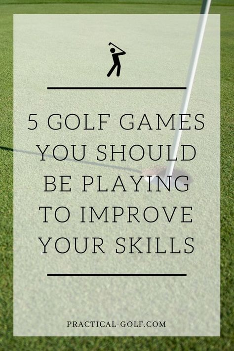 Golf Drills: 5 Games That Every Golfer Needs to Build Real Skills