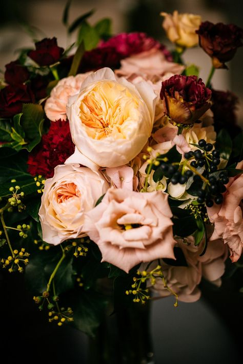 F + G  wedding | Ireland Adare Manor wedding photography | Beautiful bridal bouquet with Burgundy and brush peonies and roses | London wedding photographer