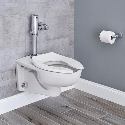American Standard Afwall 1 6 Gpf Water Efficient Elongated Two