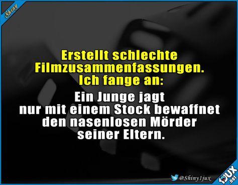 Film zusammenfassen? Kann ich! :P #Spaß #Spass #Humor #lustig #Sprüche #Memes #Shiny1jux #harrypotterhumor