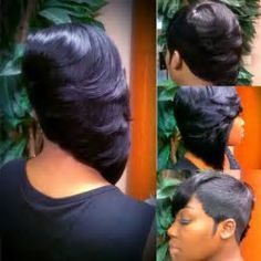 27 Piece Hairstyles For Black People Razorchicofatlanta  For The Love Of Hair  Pinterest  Shorts