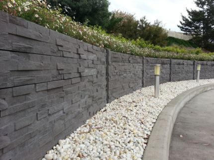 Concrete Sleepers Canberra From 37 00 And Size Galvanised Posts Port Mwpcaacquarie Qa And Region P Concrete Retaining Walls Concrete Fence Wall Concrete Fence
