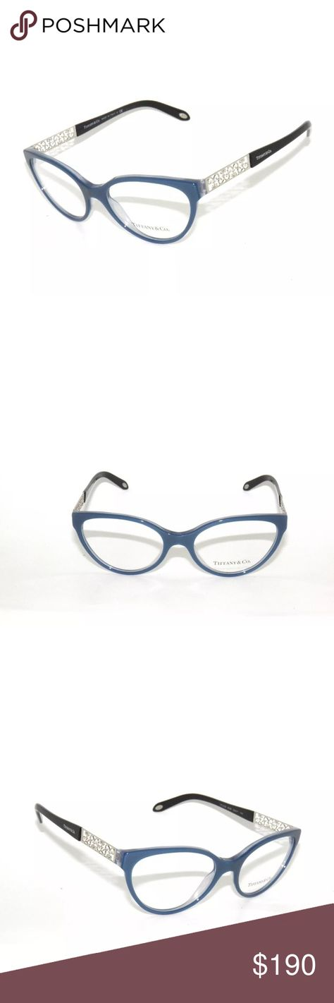 16451e84f378 Tiffany   Co. 2129 Eyeglasses Pearl Blue 53mm New