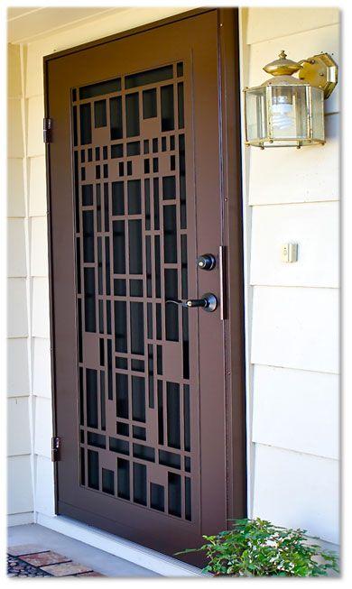 Pin By Althea On Screen Door In 2020 Security Screen Door Door Design Door Gate Design