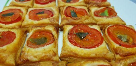 Photo of Blätterteig-Tomaten-Quadrate von KarinG | Chefkoch