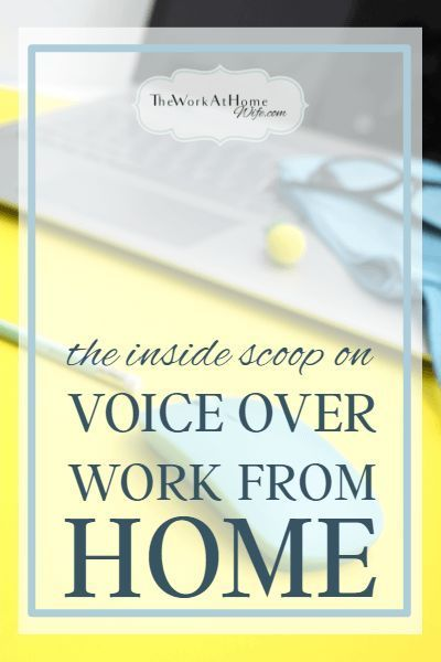The Inside Scoop On Voice Over Jobs From Home The Voice Work