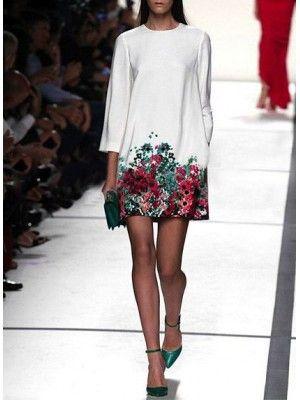 Vestito Donna Mini Casual Floreale 110077