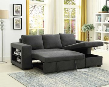 Show Details For Lucena Reversible Sectional Sofa Sofa Bed With Storage In 2020 Sofa Bed With Storage Sectional Sofa Bed Storage
