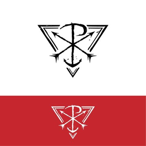 The Chi Rho Symbol For Christ Looks Like An X With The Letter P