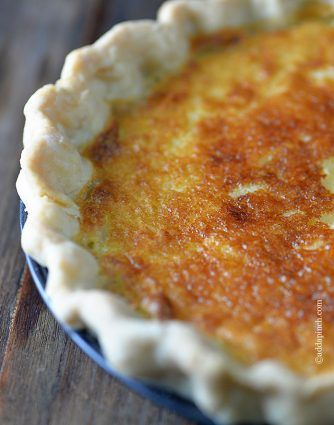 Pin By Pat Ware On Pies Buttermilk Pie Recipe