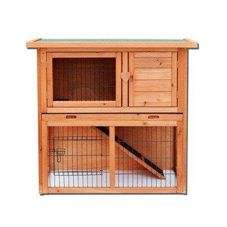 Pets Rabbit Hutches Wooden Rabbit Bunny Cages