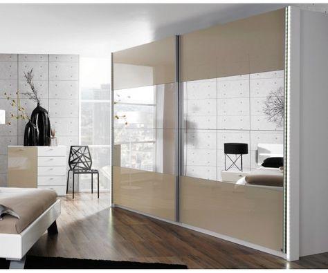 Armoire moderne - meuble-et-canape.com #chambre | Chambre ...