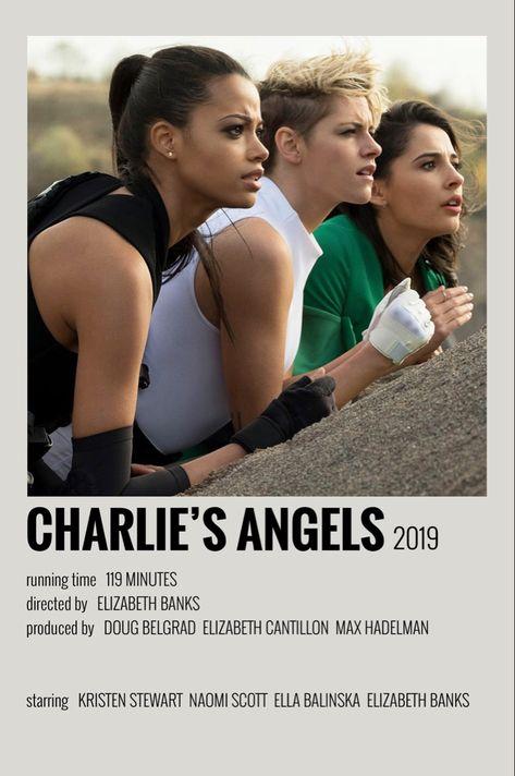 polaroid movie posters charlie's angels