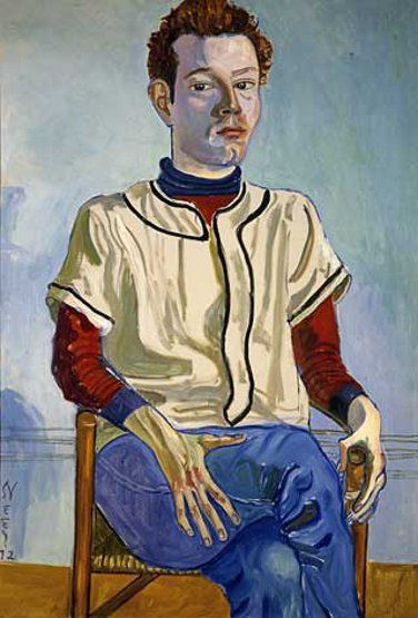 Jackie Curtis As A Boy By Alice Neel Art Painting Portrait Artist