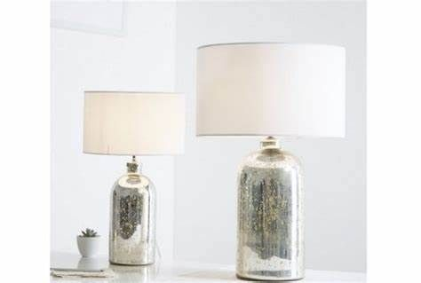 Beautiful Mercury Bedside Lamps Would Love These For Our Bedroom