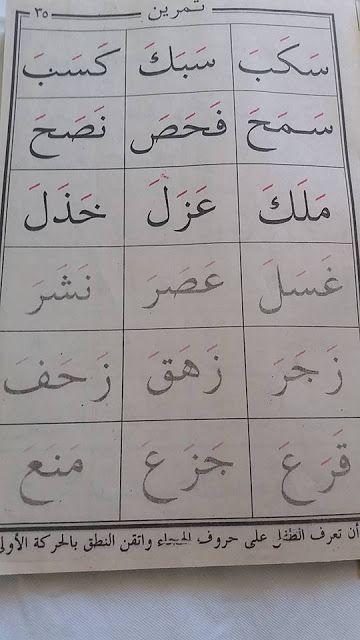 كيفية تعليم الاطفال القراءة 2