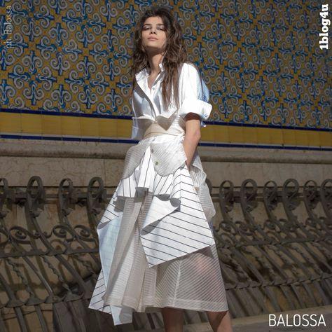 36dfd7694911 BALOSSA white shirt by Indra Kaffemanaite  Spring-Summer 2019 (continue  reading on 1blog4u