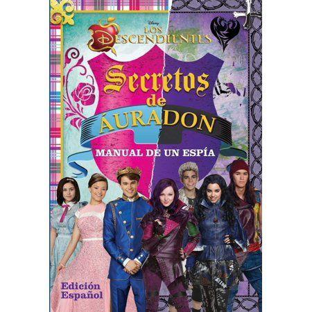 Disney Los Descendientes Secretos De Auradon Walmart Com Disney Descendants Books Disney Descendants Descendants