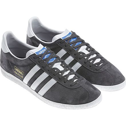 adidas originals gazelle og - baskets basses - sharp grey/white/running white