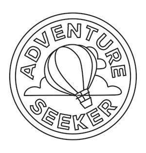 Adventure Merit Badges (Design Pack) | Urban Threads: Unique