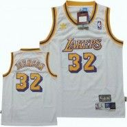 uk availability b9a20 f5af6 NBA Los Angeles Lakers Jersey : Magic Johnson #32 Throwback ...