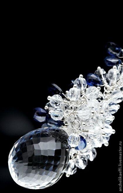 Купить Колье. Натуральные камни. Ювелирное изделие. Украшение из серебра.  925 - колье купить d23b3f8e0f7