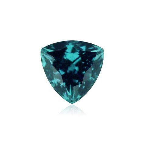 Greenish Blue Aquamarine loose gemstone. 2pcs Lot Aquamarine cabochon 10MM Trillion /& 9MM Heart
