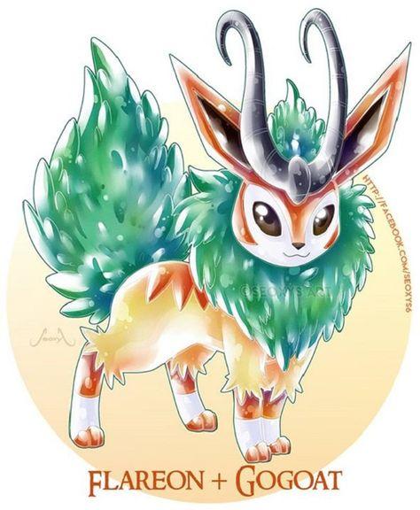 Artist Creates Wild Pokemon Fusions