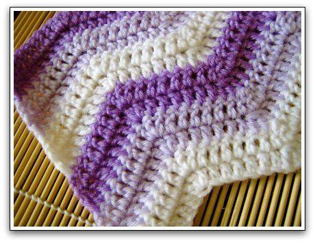 Easy Ripple Afghan Ripple Afghan Afghans And Crochet