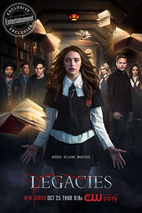 Exclusive: Hope is front and center in the first official poster for 'Legacies'