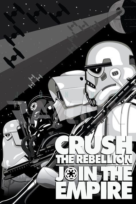 Imperial Recruitment Poster Star Wars Star Wars Star Wars Star