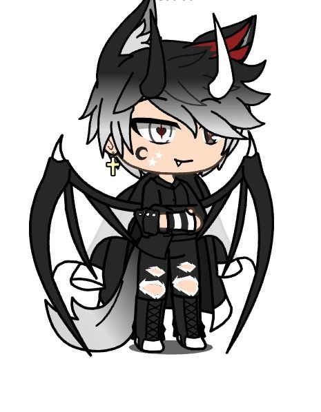 Bad Boy Cute Anime Character Cute Anime Chibi Anime Wolf Girl