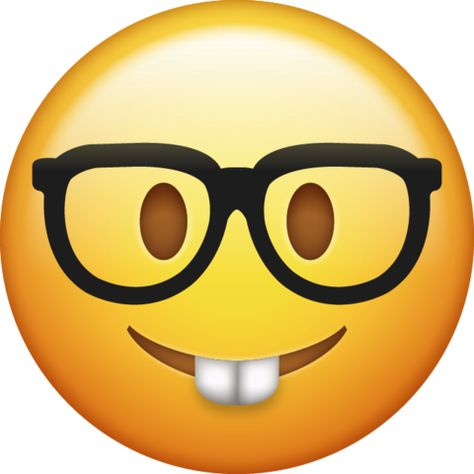 Nerd Emoji Free Download Iphone Emojis In 2020 Ios Emoji Emoji Emoji Wallpaper Iphone