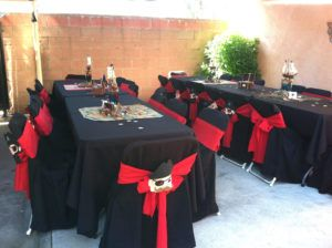 Black Chair Covers Party City Casters For Office Chairs And Work Stools Plastic Wedding Ideas Pinterest Pirate