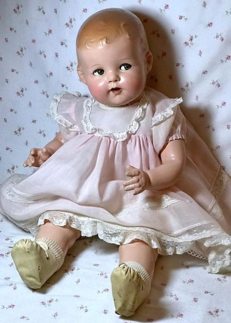 RARE Rare BLOND Ideal Baby Beautiful Shirley Temple LAL