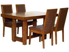 Outlet muebles: Mesa de comedor de estilo étnico #outlet #muebles ...