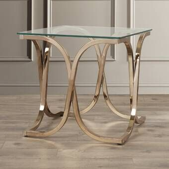 Bladwell End Table With Storage In 2020 Marble End Tables Glass End Tables End Tables
