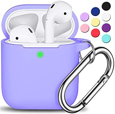 Amazon Com Airpods Case Cover With Keychain R Fun Full Protective Silicone Airpods Accessories Skin Cover For Women Girl Case Cover Apple Airpods 2 Wireless