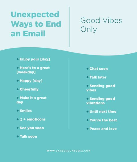 """Better Than """"Best,""""—82 Unexpected Ways to End an Email"""